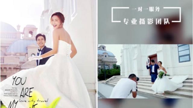 倾国倾城婚纱摄影深圳抖音信息流广告投放,打造行业好口碑